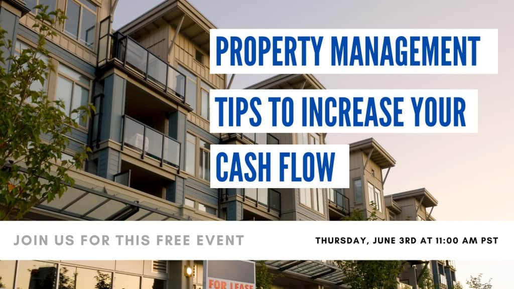 Property Management Tips To Increase Your Cash Flow